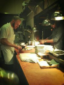 Chef Gerard at work