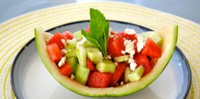 Recipe: Mint Watermelon Salad